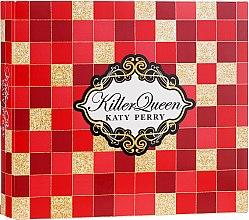 Духи, Парфюмерия, косметика Katy Perry Killer Queen - Набор (sh/gel/75ml + b/lot/75ml + edp/30ml)