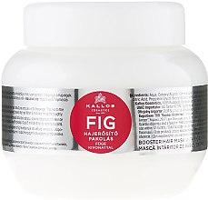 Духи, Парфюмерия, косметика Маска для волос с витаминным комплексом - Kallos Cosmetics FIG Booster Hair Mask With Fig Extract