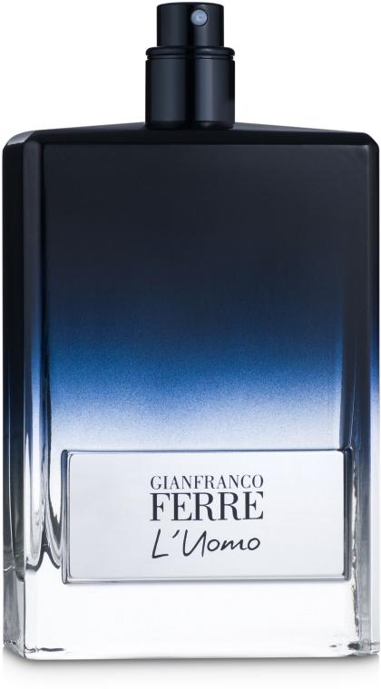Gianfranco Ferre L'Uomo - Туалетная вода (тестер без крышечки) — фото N1