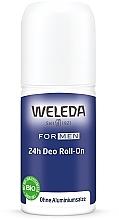 Парфумерія, косметика Дезодорант кульковий для чоловіків - Weleda 24h Deodorant Roll-On For Men