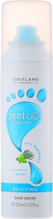 Освежающий спрей-дезодорант для ног - Oriflame Feet Up Comfort Foot Spray
