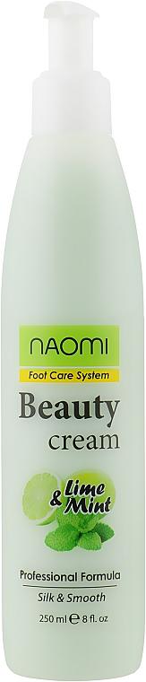 Крем для ніг - Naomi Beauty Cream Foot Care System — фото N1