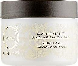 Духи, Парфюмерия, косметика Маска-блеск с протеинами шелка и экстрактом семян льна - Barex Italiana Olioseta Oro Di Luce Shine Mask