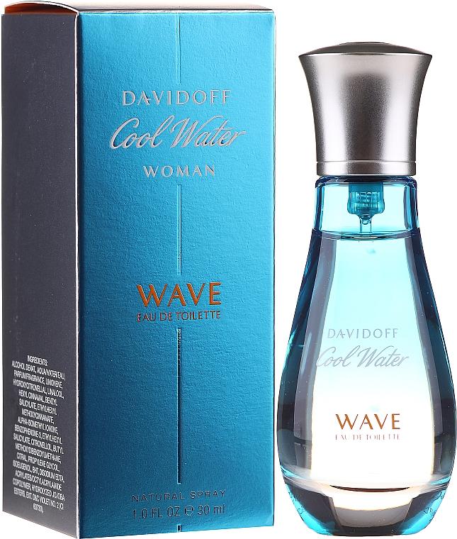 Davidoff Cool Water Wave Woman 2018 - Туалетная вода (пробник)