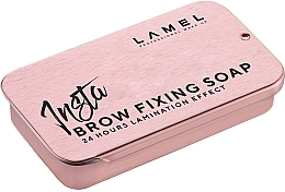 Парфумерія, косметика Фіксувальне мило для брів - Lamel Professional Insta Brow Fixing Soap