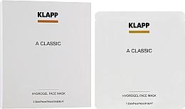 """Духи, Парфюмерия, косметика Гидрогелевая маска """"Витамин А"""" - Klapp A Classic Hydrogel Face Mask"""