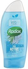 Духи, Парфюмерия, косметика Гель для душа - Radox Feel Active Shower Gel