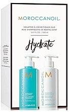 Духи, Парфюмерия, косметика Набор для волос - MoroccanOil Hydrating Shampoo & Conditioner (shm/500ml + cond/500ml)