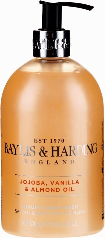 Мыло для рук - Baylis & Harding Jojoba, Vanilla & Almond Oil Hand Wash