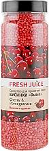 Духи, Парфюмерия, косметика Бусинки для ванны - Fresh Juice Bath Bijou Rubin Cherry and Pomergranate