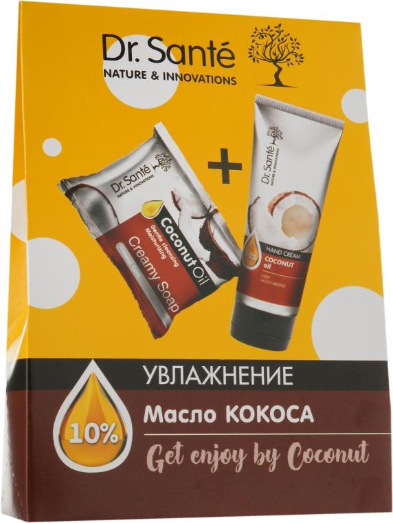 Набор - Dr. Sante Get Enjoy by Coconut (soap/100g + h/cr/75ml)