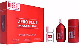 Духи, Парфюмерия, косметика Diesel Zero Plus Masculine - Набор (edt/75ml + edt/30ml + deo/75ml)