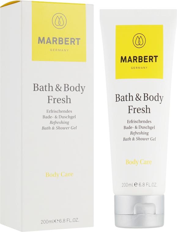 Гель для душа с освежающим ароматом цитрусовых - Marbert Bath & Body Fresh Refreshing Shower Gel