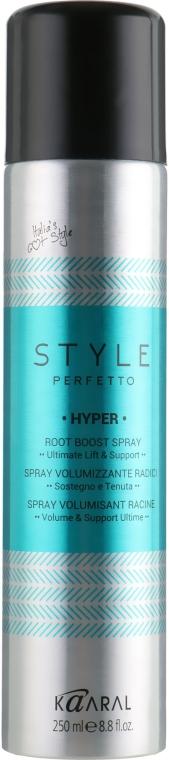 Спрей для прикорневого объема волос - Kaaral Style Perfetto Hyper Root Boost Spray