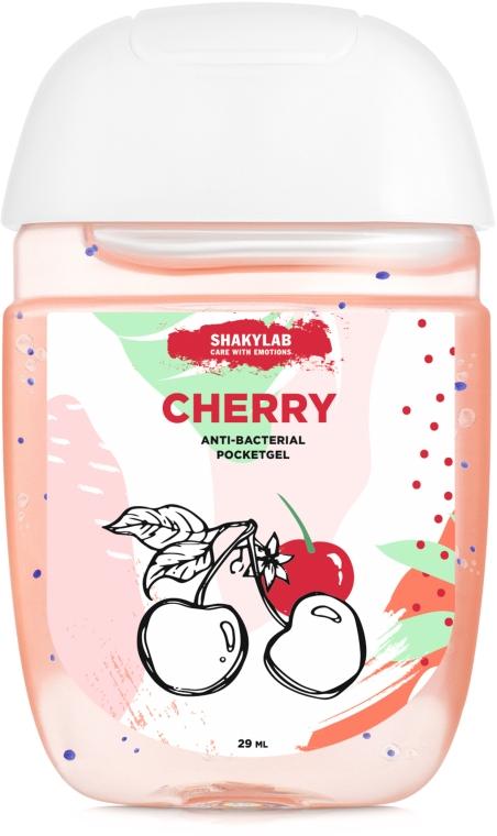"Антибактериальный гель для рук ""Cherry"" - SHAKYLAB Anti-Bacterial Pocket Gel"