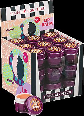 """Бальзам для губ """"Персик"""" - Mades Cosmetics Signature Lip Balm"""