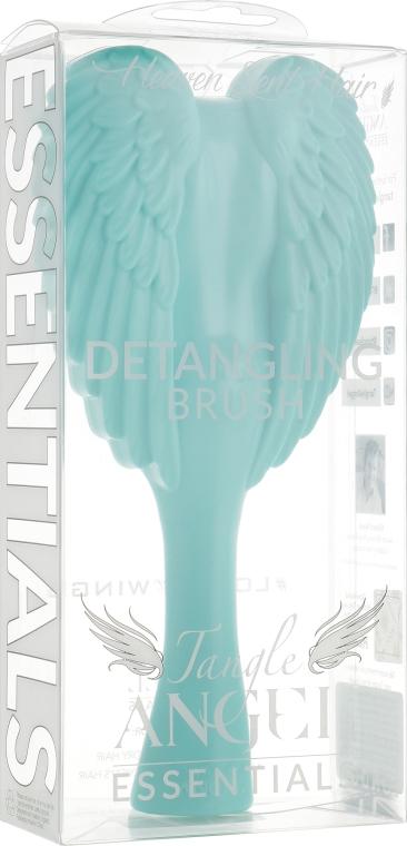 Расческа-ангел, мятный + серый - Tangle Angel Essentials Detangling Brush Aqua
