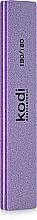 "Духи, Парфюмерия, косметика Баф для ногтей ""Прямой"" - Kodi Professional lilac, 180/180"