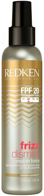 Лосьон для гладкости непослушных волос - Redken Frizz Dismiss Smooth Forc