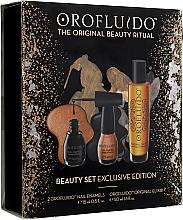 Духи, Парфюмерия, косметика Набор - Orofluido Beauty Set Exclusive Edition (elixir/50ml + nail/2x15ml)