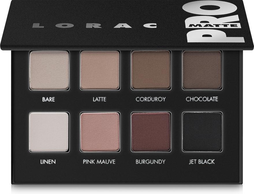 Палетка матовых теней - Lorac Pro Matte Eye Shadow Palette