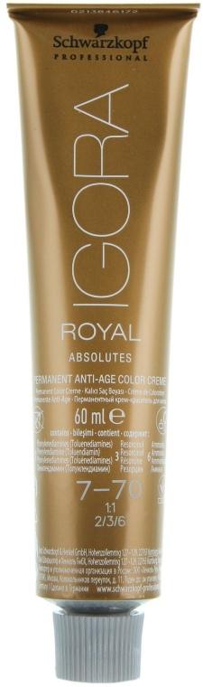Краска для седых волос - Schwarzkopf Professional Igora Royal Absolutes