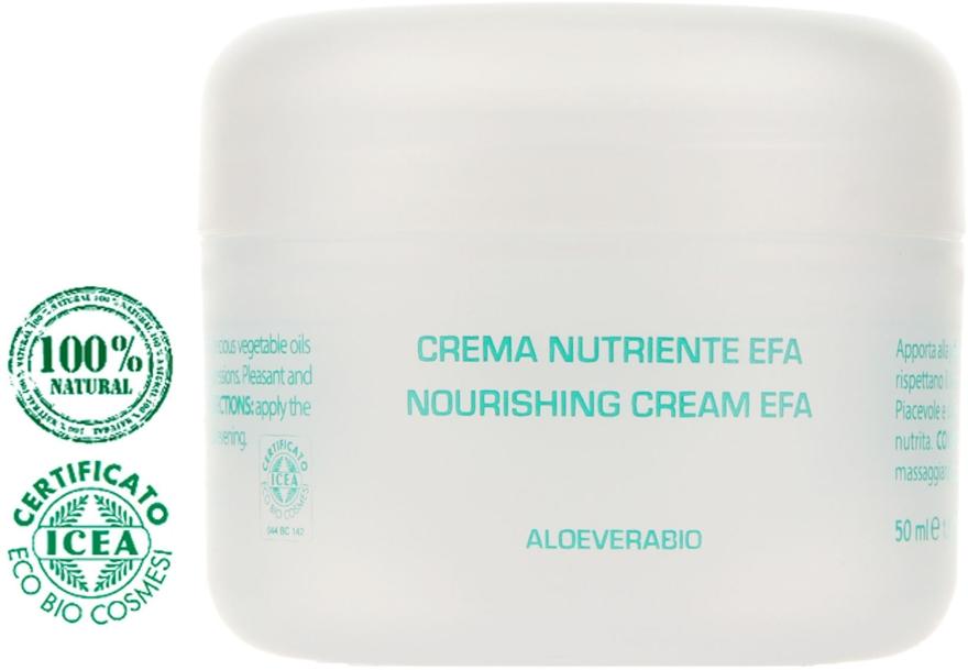 Питательный крем для лица на основе алоэ вера - Bioearth The Beauty Seed Noirushing Crem Efa