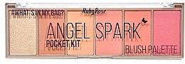 Духи, Парфюмерия, косметика Палетка румян - Ruby Rose Angel Spark Pocket Kit
