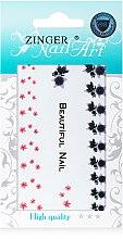 Духи, Парфюмерия, косметика Наклейки для дизайна ногтей, fda-12 - Zinger Nail Art Sticker 112