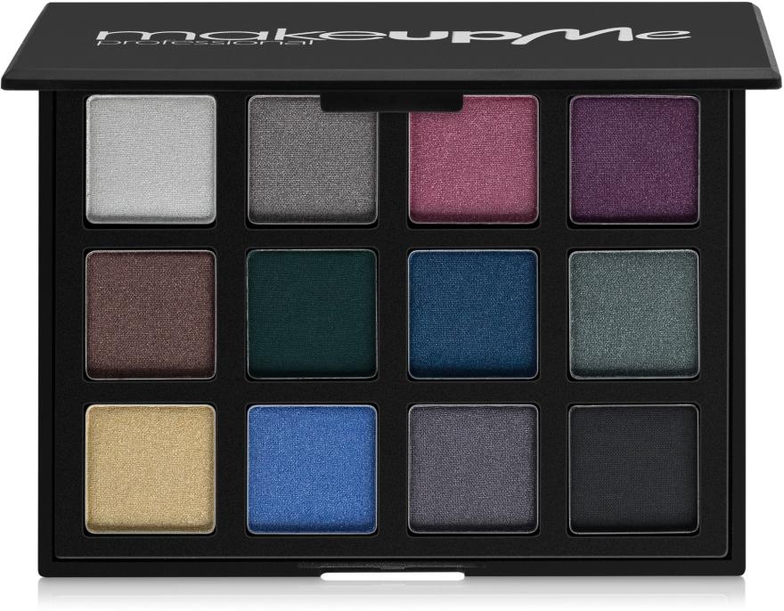 Профессиональная палитра теней 12 цветов, Z12 - Make Up Me