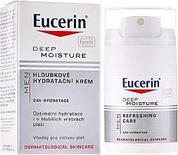 Духи, Парфюмерия, косметика Увлажняющий крем для мужчин - Eucerin Men Deep Moisture Refreshing Care
