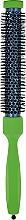 Парфумерія, косметика Брашинг з дерев'яною ручкою, покритою каучуковим лаком d23mm, зелений - 3ME Maestri