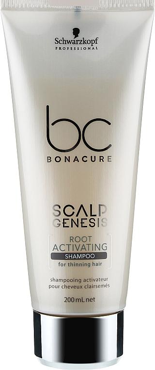 Шампунь активирующий и ускоряющий рост волос - Schwarzkopf Professional BC Scalp Genesis Root Activating Shampo