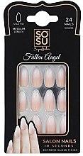 Духи, Парфюмерия, косметика Набір накладних нігтів - Sosu by SJ False Nails Medium Fallen Angel