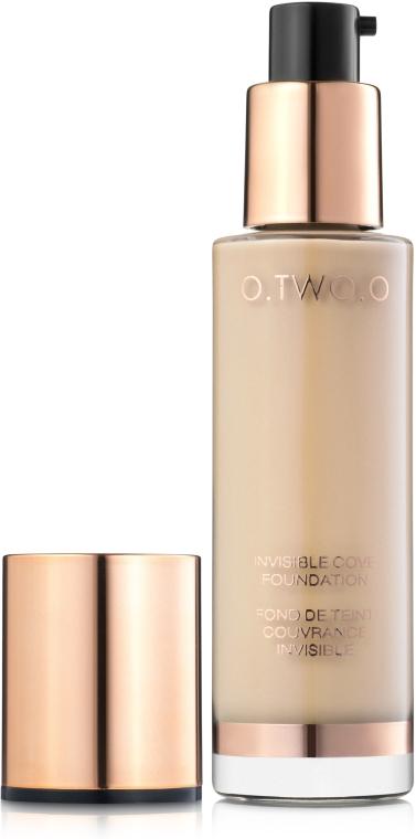 Тональная основа для лица - O.TWO.O Invisible Cover Foundation