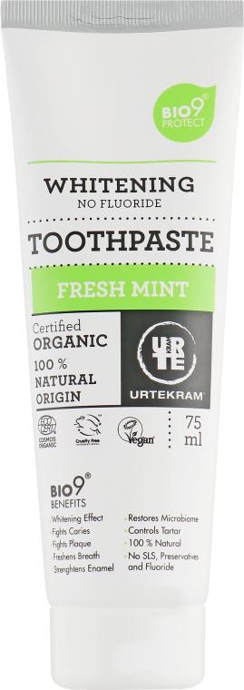 """Органическая зубная паста """"Свежая мята"""" - Urtekram Sensitive Fresh Mint Organic Toothpaste"""