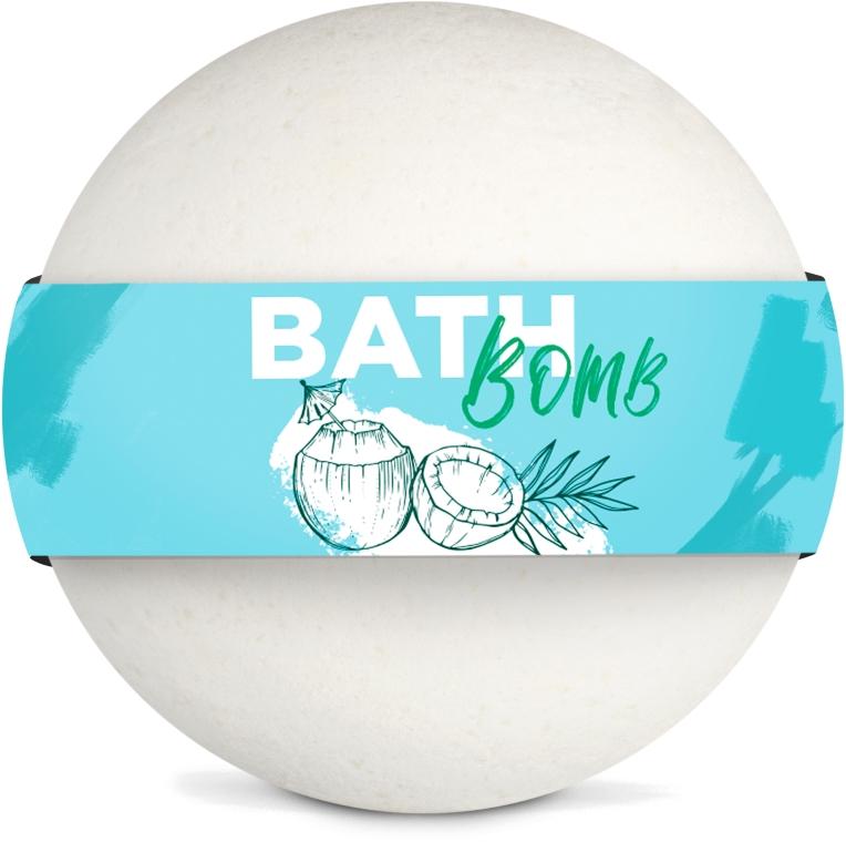 "Бомбочка для ванны ""Coconut"" - SHAKYLAB Bath Bomb"