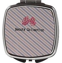 Духи, Парфюмерия, косметика Зеркальце квадратное 85635, в косую линию - Top Choice Beauty Collection Mirror