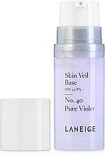 Духи, Парфюмерия, косметика Цветная база под макияж - Laneige Skin Veil Base SPF 25 PA++ (мини)