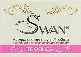 """Духи, Парфюмерия, косметика Натуральное мыло ручной работы """"Роза"""" - Swan"""