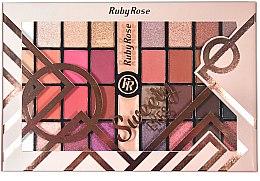 Духи, Парфюмерия, косметика Палетка теней для век, 32 оттенка - Ruby Rose Eyeshadow Palette Sweety Eyes