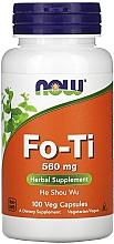 Духи, Парфюмерия, косметика Капсулы Фо-ти 560 мг - Now Foods Fo-Ti He Shou Wu