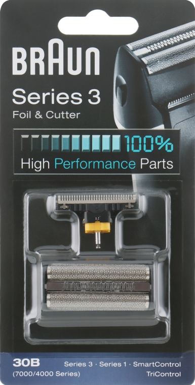 Бреющая сетка и режущий блок - Braun Series 3 30B