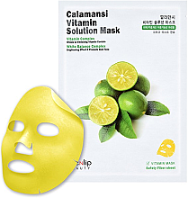 Духи, Парфюмерия, косметика Тканевая маска с экстрактом каламанси - Eyenlip Calamansi Vita Solution Mask