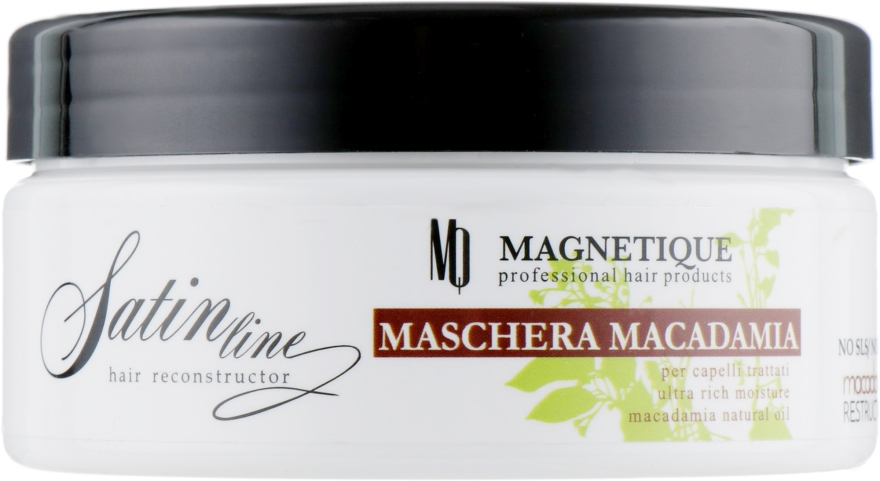 Маска с маслом макадамии и кератином - Magnetique Mask Macadamia Resrtucture