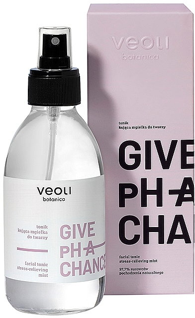 "Тоник для кожи лица ""Антистресс"" - Veoli Botanica Give Ph A Chance Facial Tonic Stress-Relieving Mist — фото N2"
