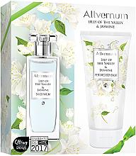 Духи, Парфюмерия, косметика Allvernum Lily Of The Valley & Jasmine - Набор (edp/50ml + b/lot/200ml)
