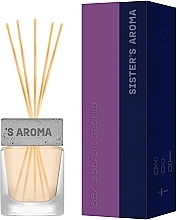 Духи, Парфюмерия, косметика Парфюмированный аромат для дома «Sex & Black orchid» - Sister's Aroma Reed Diffuser