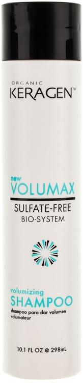 Шампунь для объема волос с кератином - Organic Keragen Volumizing Sulfat-free Bio-system Shampoo