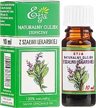 Духи, Парфюмерия, косметика Натуральное эфирное масло шалфея - Etja Natural Essential Oil